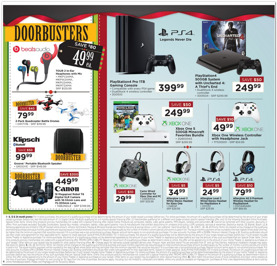 HH Gregg Black Friday 2017 Ads Deals and Sales